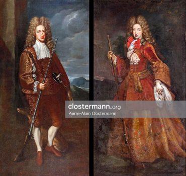 Charles II et Maria Anna d'Espagne