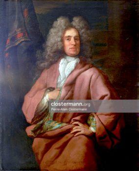 Portrait d'homme non identifié attribué à John Closterman (Osnabrück 1660 - Londres 1711)